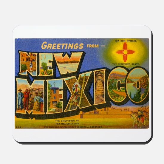 New Mexico NM Mousepad