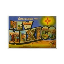 New Mexico NM Rectangle Magnet