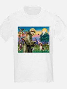 St. Francis & Beagle T-Shirt