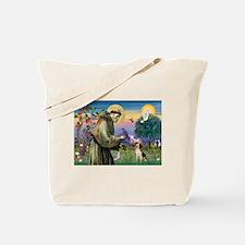 St. Francis & Beagle Tote Bag
