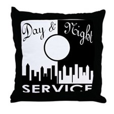 Day & Night Service Throw Pillow