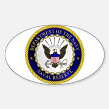 US Navy Reserve Oval Decal