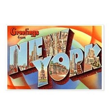 New York NY Postcards (Package of 8)