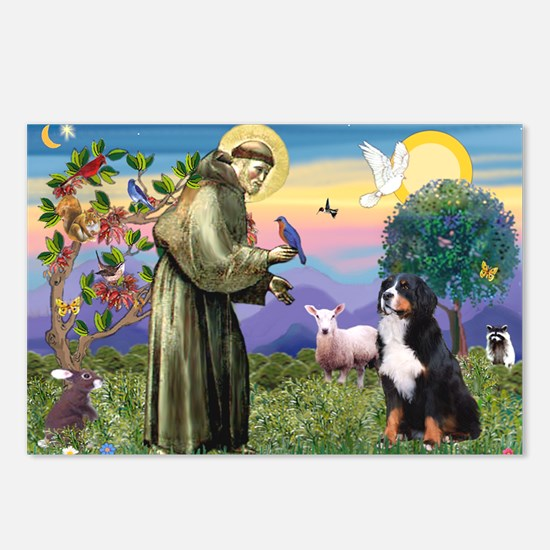 St Francis/Bernese Postcards (Package of 8)