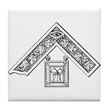 Past Master's Jewel Tile Coaster