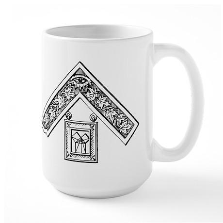 Past Master's Jewel Large Mug