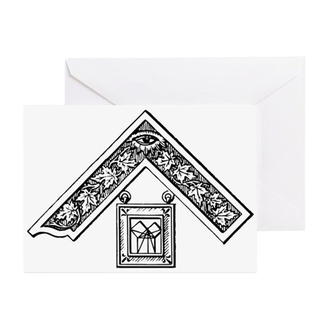 Past Master's Jewel Greeting Cards (Pk of 10)