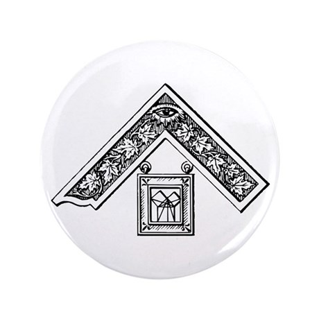 """Past Master's Jewel 3.5"""" Button"""