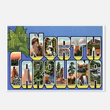 North Carolina NC Postcards (Package of 8)