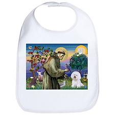 St Francis / Bichon Frise Bib