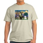 St Francis / Bichon Frise Light T-Shirt