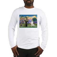St Francis & Borzoi Long Sleeve T-Shirt