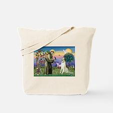 St Francis & Borzoi Tote Bag