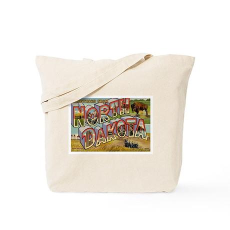 North Dakota ND Tote Bag