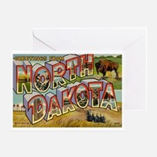 North Dakota ND Greeting Card