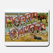 North Dakota ND Mousepad