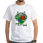 MacQuarrie Family Crest White T-Shirt