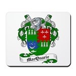 MacQuarrie Family Crest Mousepad