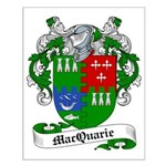 MacQuarrie Family Crest Small Poster