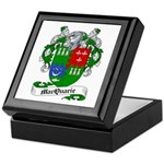 MacQuarrie Family Crest Keepsake Box