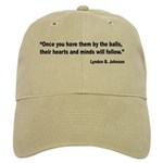 Johnson Hearts and Minds Quote Cap