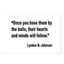 Johnson Hearts and Minds Quote Postcards (Package