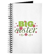 Big Sister Garden Flowers Journal