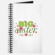 Big Sister Garden Flowers Journal