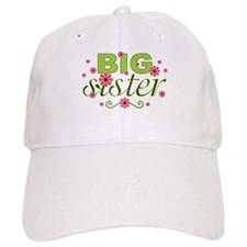 Big Sister Garden Flowers Cap