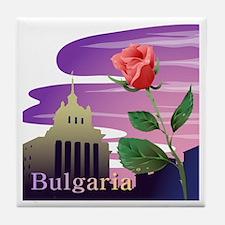 Bulgaria Tile Coaster