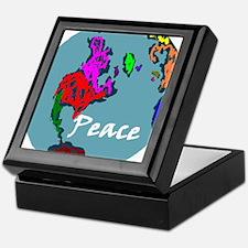 Peace on Earth Keepsake Box