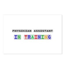 Physician Assistant In Training Postcards (Package