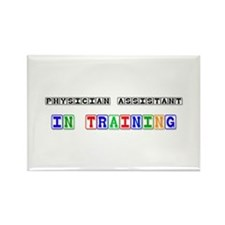 Physician Assistant In Training Rectangle Magnet