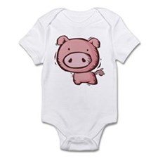 Pig Infant Bodysuit
