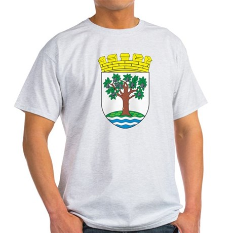 Worcestershire Coat of Arms Light T-Shirt