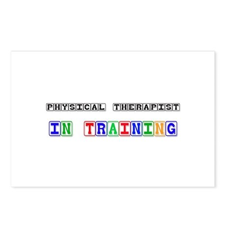 Physical Therapist In Training Postcards (Package