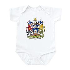 West Yorkshire Coat of Arms Infant Bodysuit