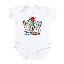 West Glamorgan Coat of Arms Infant Bodysuit
