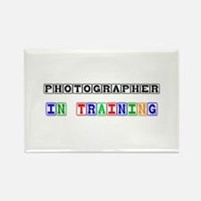 Photographer In Training Rectangle Magnet