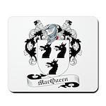 MacQueen Family Crest Mousepad