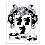 MacQueen Family Crest Small Poster