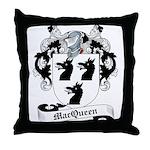 MacQueen Family Crest Throw Pillow