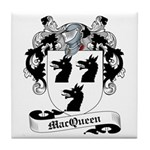MacQueen Family Crest Tile Coaster