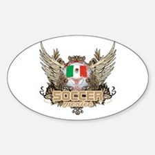 Soccer Mexico Oval Decal