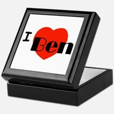 I Love Ben Keepsake Box