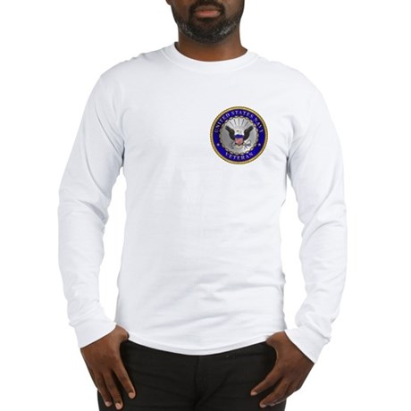 US Navy Veteran Long Sleeve T-Shirt