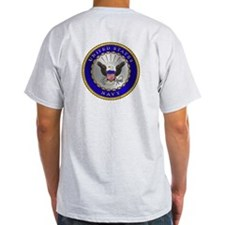 US Navy Veteran Ash Grey T-Shirt