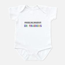 Philologist In Training Infant Bodysuit