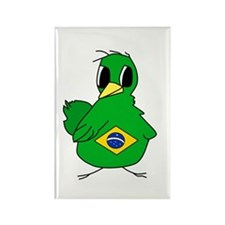 Lg Brazilian Chick Rectangle Magnet