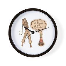I Dream of Obama Wall Clock